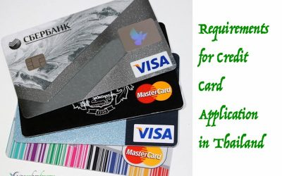 Requirements for Credit Card Application in Thailand