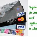 credit card application in Thailand