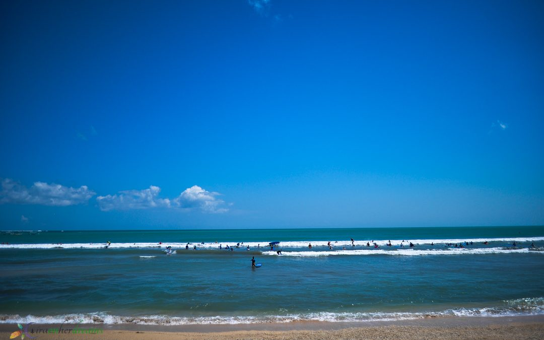 First-time Surfing in Kuta Beach, Bali
