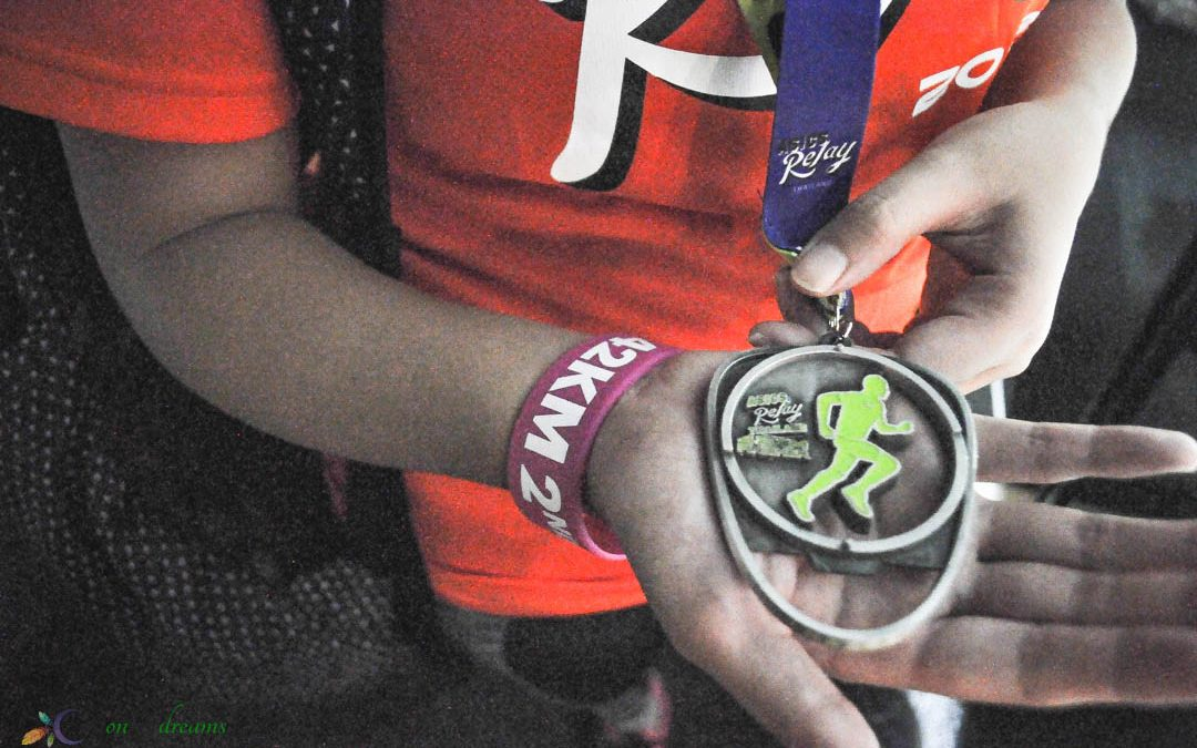 42K Asics Relay Thailand, My First Mini-marathon ever!