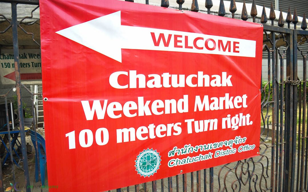 Chatuchak Weekend Market, the Biggest Outdoor Market in Bangkok