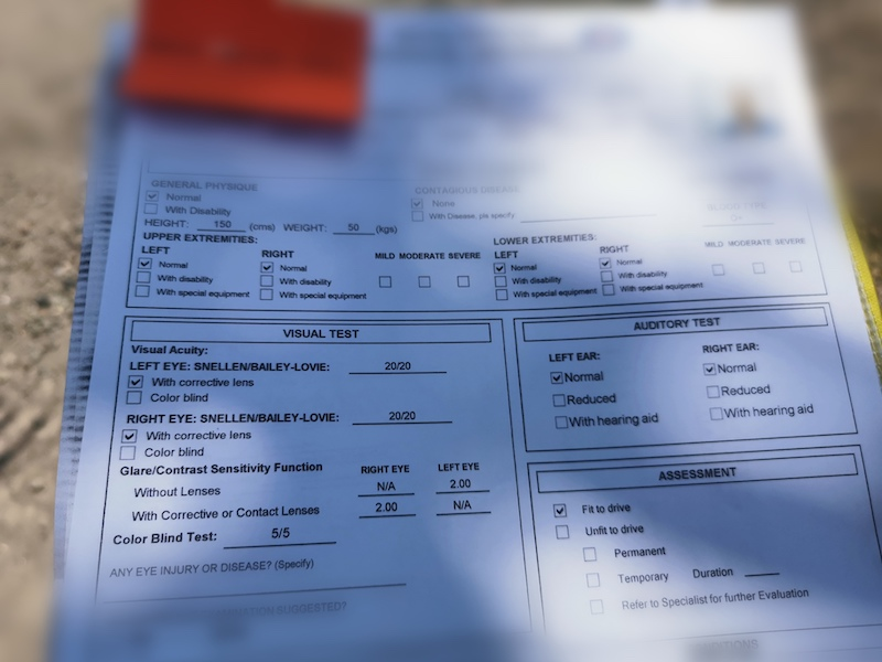 iraonherdreams-LTO-office-medical-certificate-Philippines