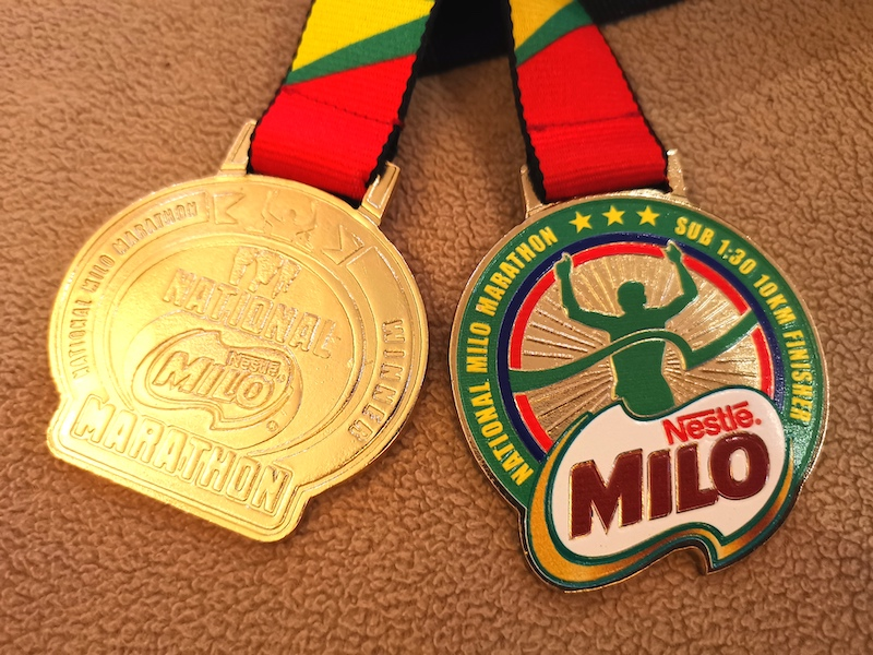 iraonherdreams-2019 National Milo marathon-General Santos city-21KM